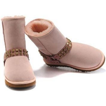 One-nice™ Cyber Monday Uggs Boots New Arrival 9819 Pink For Women 98 72