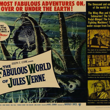 The Fabulous World of Jules Verne 11x14 Movie Poster (1961)