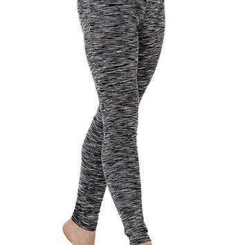 Space Dye Ankle-Length Legging | Balera™