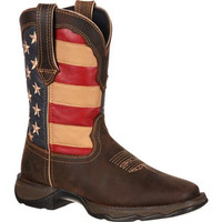 Lady Rebel by Durango Patriotic Pull-On Western W