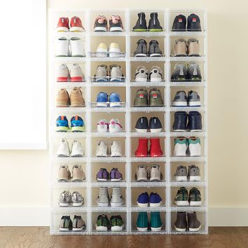 Men's Drop-Front Shoe Box