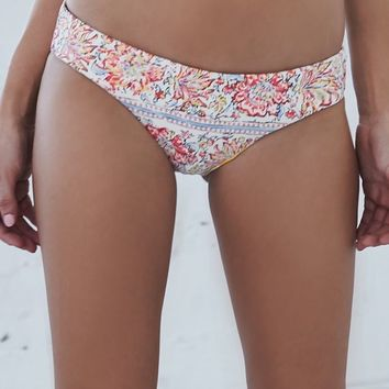 Billabong Paisley Paradise Cheeky Bikini Bottom - Womens Swimwear - Multi Color