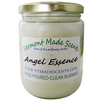 Angel Essence, 16 oz, Burns 160-200 Hrs, Vermont Made Candle, Long Lasting