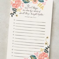 Rifle Paper Co. Great Things Notepad in Pink Size: One Size Books