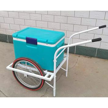 Cart Ice Cream Beverage Push Cart Legacy Cart
