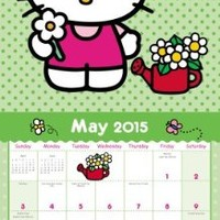 Hello Kitty Wall Calendar (2015)