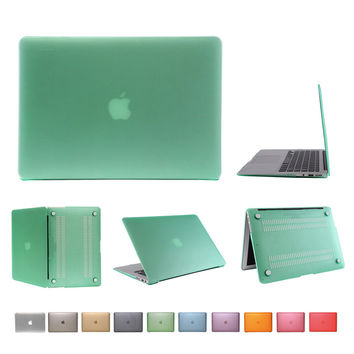 hard PC case for macbook air 11 inch transparent matte cover for apple mac book 11.6 A1465 cover with US keyboard protector