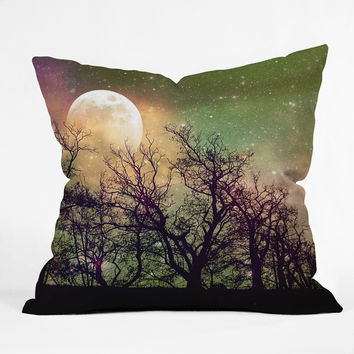 Shannon Clark Moon Magic Throw Pillow