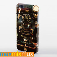 Steampunk Camera iPhone 4/4S, 5/5S, 5C Series Full Wrap Case