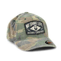 Flash Washed Camo Flexfit™ Hat