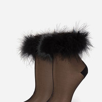 Stance X Rihanna Fro$T Bite Womens Socks Black One Size For Women 27810410001