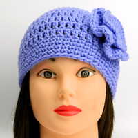Crochet hat, Adult hat, Winter Hat, Womens beanie, Cute winter hat - choose any colors!