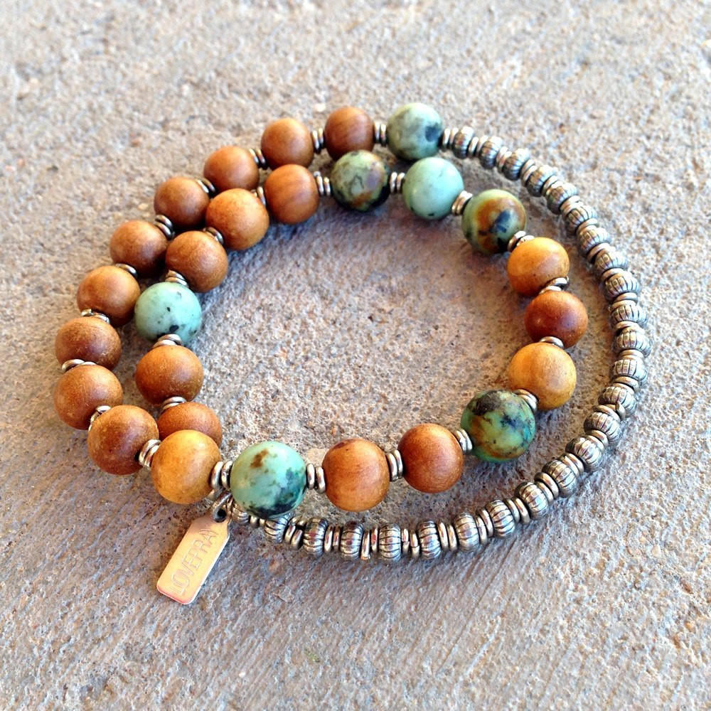 Healing and change sandalwood and from lovepray jewelry kacis