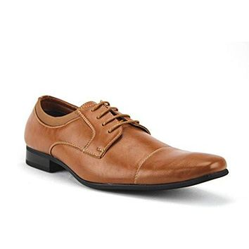 Ferro Aldo Men's 19107AL  Cap Toe Lace up Oxfords Dress Shoes
