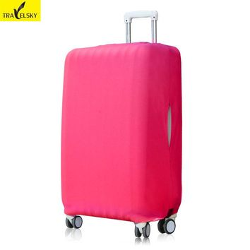 Travelsky Thick Travel Luggage Cover Elastic Suitcase Protective Cover For 26 - 32 Inch Luggage Travel Case Cover for Christmas