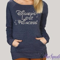 Disney's Forgotten Princess Fleece Sweatshirt. Disney Princess Gym Sweatshirt. Off Shoulder Sweatshirt. Off Shoulder Fleece Princess Sweater