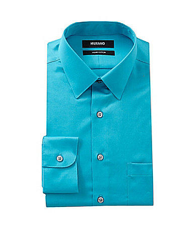 7d2467d0 Murano Solid Point-Collar Liquid Cotton from Dillard's | Quick