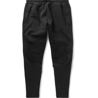 Nike - Slim-Fit Tapered Cotton-Blend Tech Fleece Sweatpants