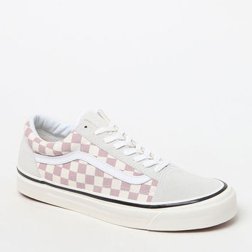 Vans Anaheim Factory Old Skool 36 DX Mauve Checker Shoes at PacSun.com