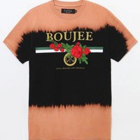 DCCKYB5 We Boujee Rose Bleach T-Shirt