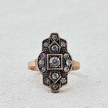 AEO Vintage Sparkle Ring , Gold