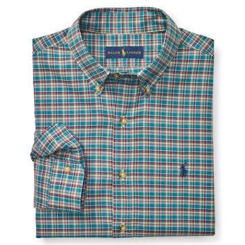PLAID COTTON TWILL SHIRT