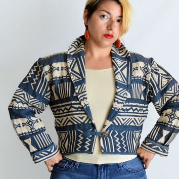90s Vintage Southwestern Jacket by Flaskback