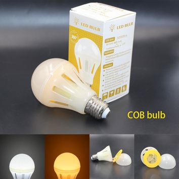 E27 Filaments led COB Bulb 6W 8W 10W Energy Saving 360 Degree Table lamp Light 220V 2016 new arrive super bright Spot Lampada