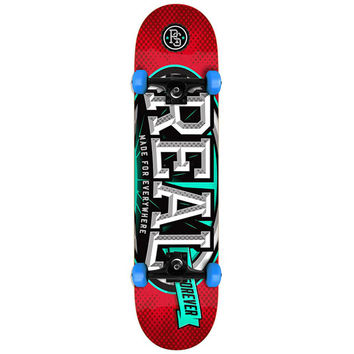 """Real Skateboards League Oval Complete - 7.5"""""""