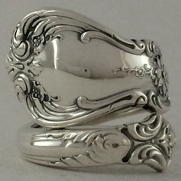 Size 5 Vintage Sterling Silver Towle Spoon Ring