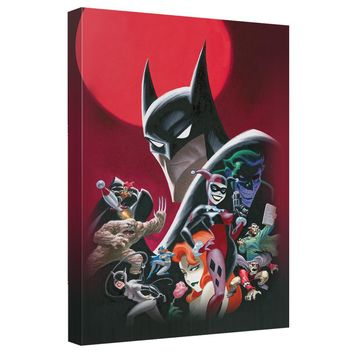 Batman - Animated Poster Canvas Wall Art With Back Board