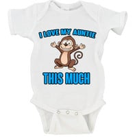 I Love My Aunt This Much Gerber Onesuit ®
