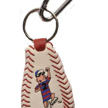 MLB Milwaukee Brewers Sausage Guy 2 Baseball Keychain