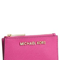 MICHAEL Michael Kors 'Jet Set' Saffiano Leather Key Pouch | Nordstrom