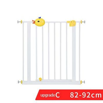 RU free shipping ! 75-85  cm Baby safe  stair safey gate Child gate baby guardrail pet dog grid railing fence isolating