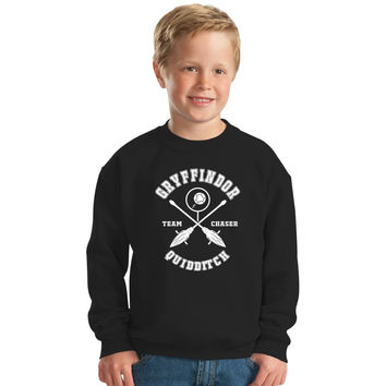 Harry Potter Gryffindor Chaser Kids Sweatshirt