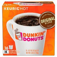 Dunkin' Donuts® Original Blend Medium Roast Coffee - K-Cup Pods - 16ct