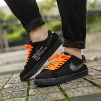 Nike BLAZER LOW GT X OFF-White Black Sneakers