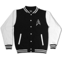 Star Trek Badge Letterman Jacket