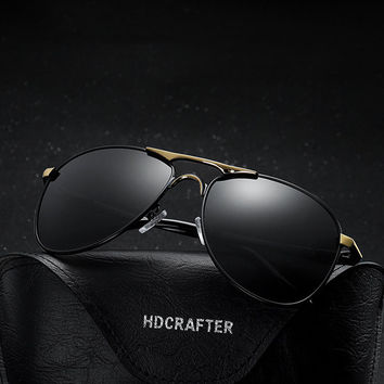 Men New Fishing Sunglasses Polarized Anti-UV Eyeglasses Outdoor Travel Sports Glasses
