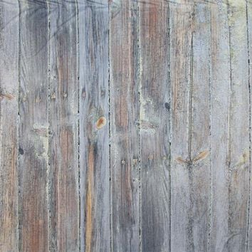 Tan Gray Brown Wood Planks Platinum Cloth Backdrop 20x10 - LCPCSL350 - LAST CALL