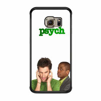 psych shawn and gus white case for samsung galaxy s6 s6 edge