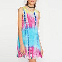 Boho Printed Juvenile Summer Dress Available in Plus Sizes