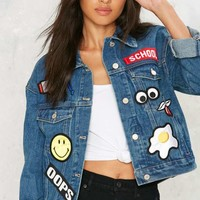 Patch Me If You Can Denim Jacket
