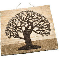 Handmade Jute Tree of Life Wall Hanging from India  || Fair Trade Handicrafts from Ten Thousand Villages
