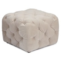 Jules Tufted Ottoman | Ottomans | Living Room | Furniture | Z Gallerie