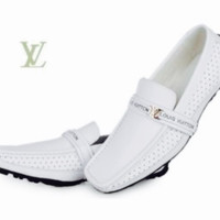 Men's Leather Louis Vuitton Loafers