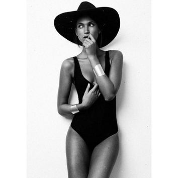 2017 Women Bodysuit Rompers Womens Jumpsuit Sleeveless Sexy Backless Fashion Skinny Bodycon One Piece Jumpsuits American Apparel