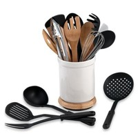 Denmark® Rotating 17-Piece Utensil Crock Set