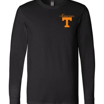 Official NCAA University of Tennessee Volunteers, Knoxville Vols UT UTK Women's Long Sleeve T-Shirt - 67L-TN-a